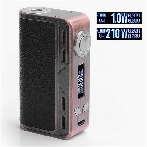 Mod Smoant Charon 218watt Authentic authentic smoant charon 218w tc vw copper variable wattage box mod