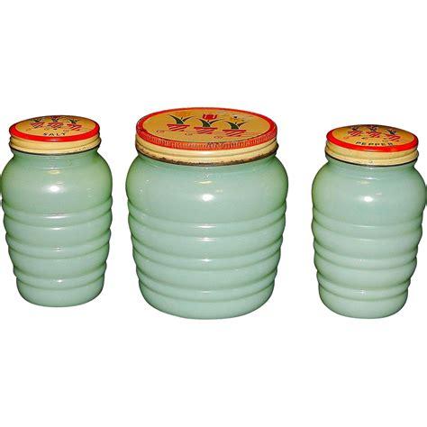 Depression Glass Ls by Vintage Depression Glass Range Set Anchor Hocking