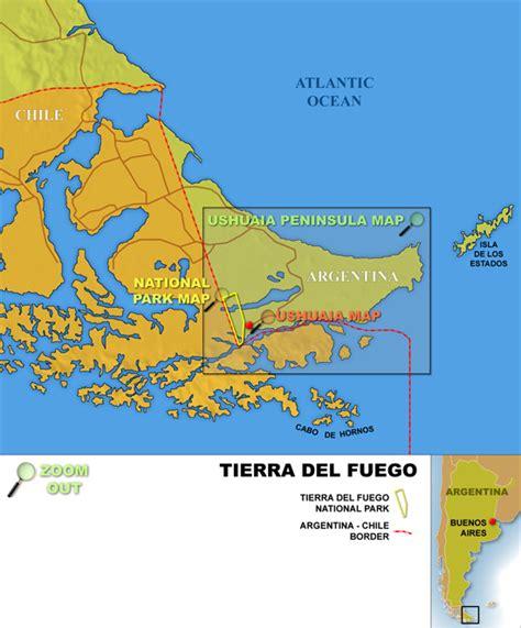tierra del fuego map my blog