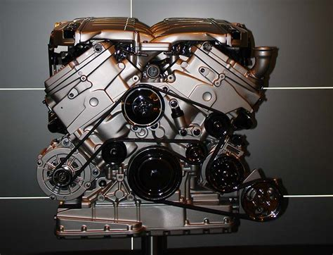 bentley s turbo w12 engine being made