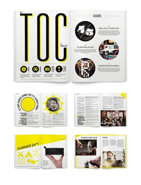 graphic design layout types moc by matthew rancatore via behance maga lay out