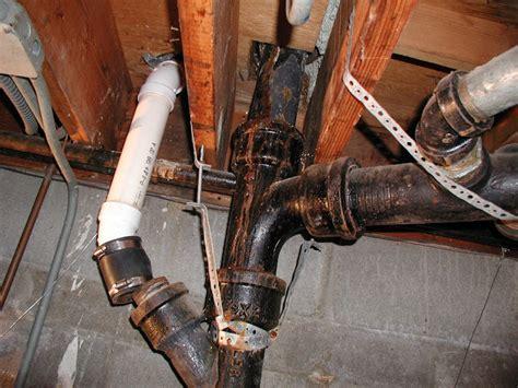 B P Plumbing by Wally Sue Fixing Cast Iron Plumbing
