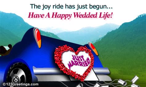 Wedding Song Congratulation Mp3 by Wedding Wishes Free Just Married Ecards Greeting Cards 123