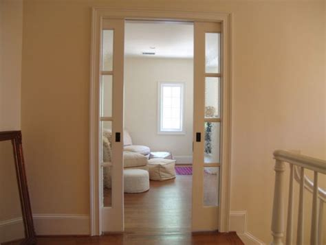 Pocket doors space saving alternatives with an architectural