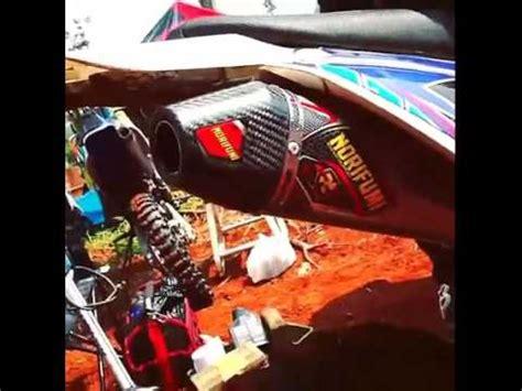 Knalpot Klx Dtracker Norifumi Megaboom Stainless knalpot klx norifumi carbon