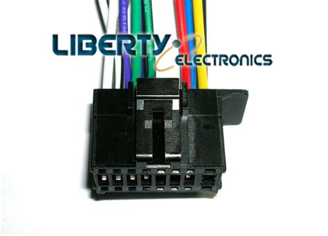 new 16 pin wire harness for pioneer fh x720bt fh