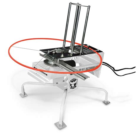 automatic thrower do all outdoors 174 white wing automatic trap thrower 594130 shooting targets at