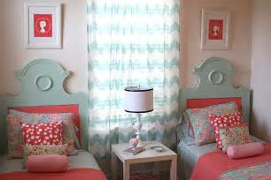 Girls Bedroom Decorating Ideas decorating with shades of coral