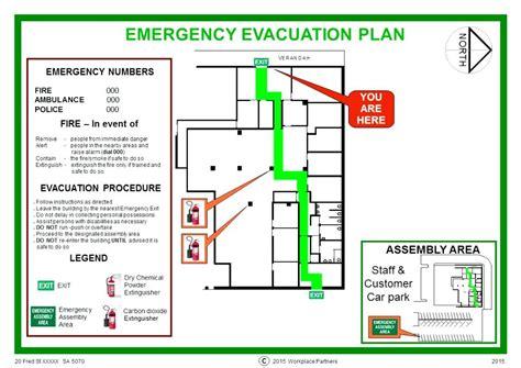 evacuation procedure template free personal emergency evacuation plan template primary school