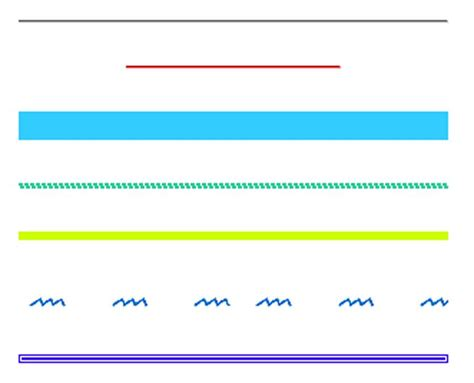 decorative line css styling the html hr tag with css