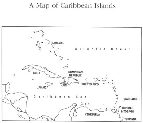 printable maps caribbean islands printable map of caribbean islands queenstyle