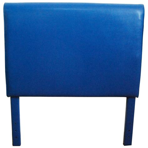 blue twin headboard 4 d concepts blue upholstered twin headboard 175608