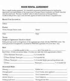 renters agreement template free printable room rental agreement printable agreements