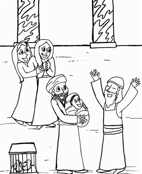 simeon and anna coloring page free coloring pages on art