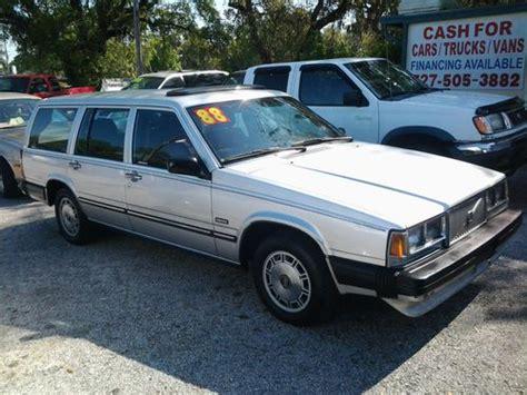 buy used 1988 volvo 740 gle wagon 4 door 2 3l in