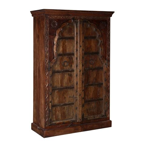 traditional armoire traditional armoire 60 quot reclaimed and solid mango wood