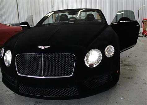 Wrap Of The Day Black Velvet Bentley Gtc