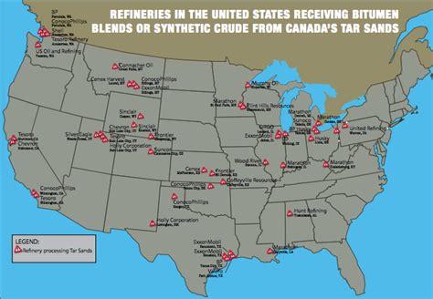 map us refineries alberta bitumen threatens health of communities living