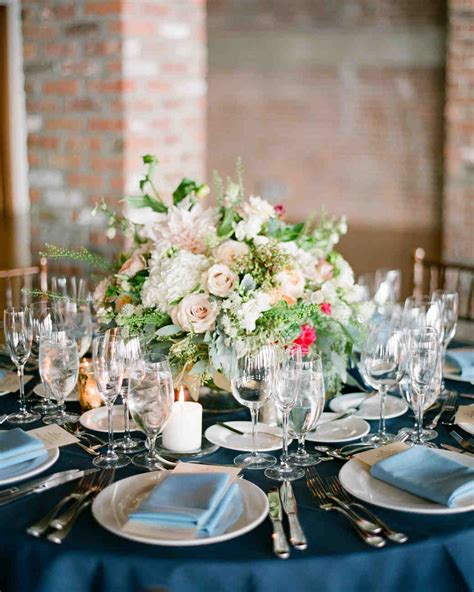 Wedding Table Flower Arrangements by 75 Great Wedding Centerpieces Martha Stewart Weddings