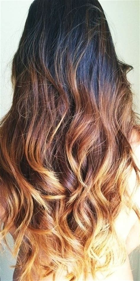 pictures of brown and blode ombre hair hottest ombre hair color ideas trendy ombre hairstyles