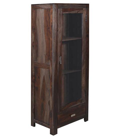shekhawati solid wood single door wardrobe price in india