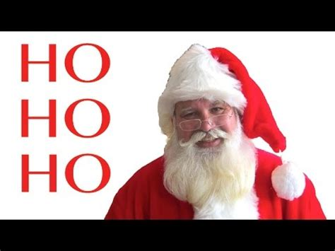 santa claus ho ho ho youtube