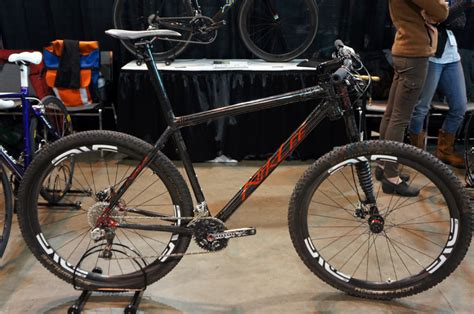 Handmade Mountain Bikes - nahbs 2013 kirklee lightens road bike by molding more