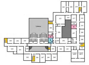 campus map upstairs overview