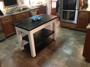 do it yourself kitchen island white rolling kitchen island diy projects