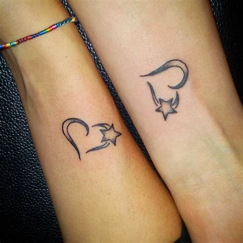 heart and star tattoo 28 small designs ideas design trends