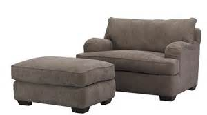 Sofa Clearance Outlet Vaughn Chair And A Half And Matching Ottoman With Exposed