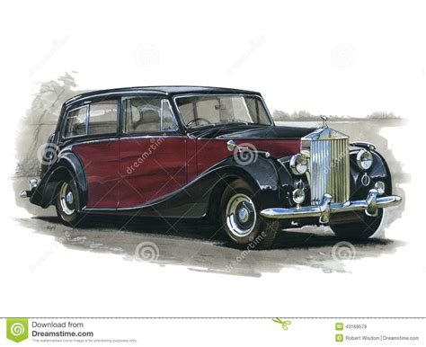 cartoon rolls royce rolls royce silver wraith editorial photo cartoondealer