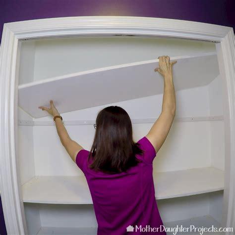 diy custom closet shelves   build  closet diy