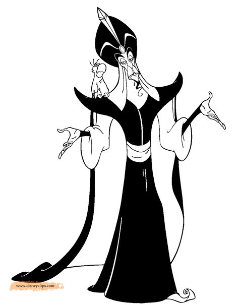 Aladdin Printable Coloring Pages 2 Disney Coloring Book Jafar Coloring Pages