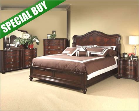 fairmont designs 4 pc bedroom set wakefield fas7053set