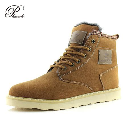 warmest winter boots mens 2016 warm winter shoes ankle suede boots flat heels
