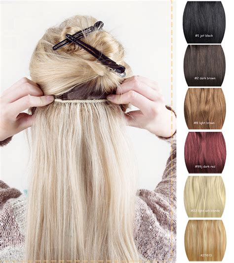 single clip in human hair extensions real remy human hair clip in hair extensions one