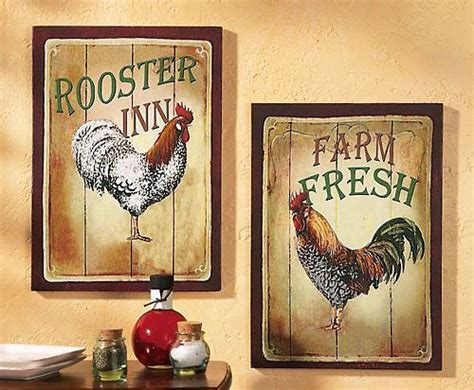 rooster home decor roosters for kitchen decor best country rooster kitchen decor all categories rustic home home