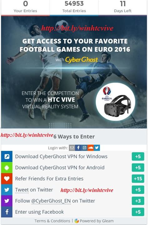 Free Htc Vive Giveaway - win a free htc vive virtual reality system