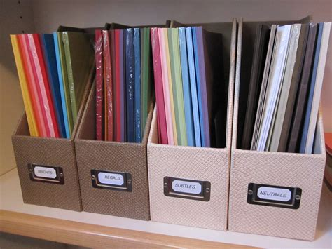 Craft Paper Storage Solutions - papercrafts by patti storage solutions