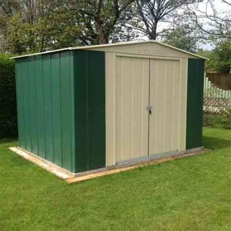 Metal Garden Sheds Metal Garden Sheds Apex Or Pent Roof Shed Homegenies