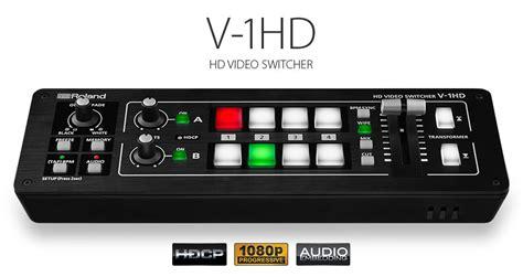 Roland V 1hd roland v 1hd switchers jp lilley av