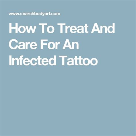 how to treat infected tattoo best 20 infected ideas on tattoos