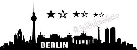 Autoaufkleber Drucken Berlin by Folien Factory Shop Berlin Skyline Aufkleber Wandtattoo
