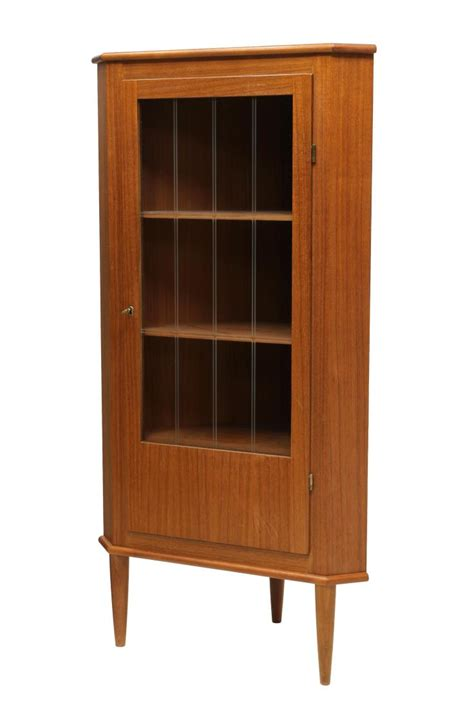 mid century corner cabinet mid century modern teakwood corner cabinet june