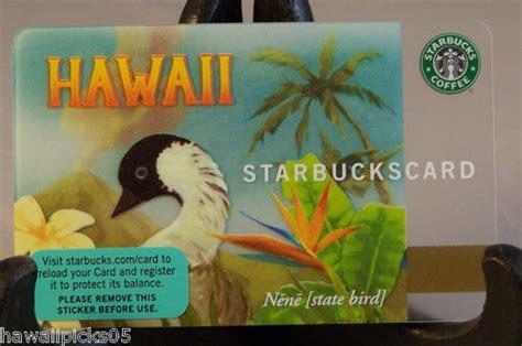 Hawaii Gift Cards - starbucks hawaii nene goose gift card hawaiian pinterest