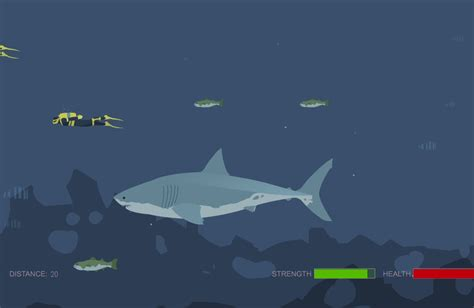 play mad shark flash on www flashgames555