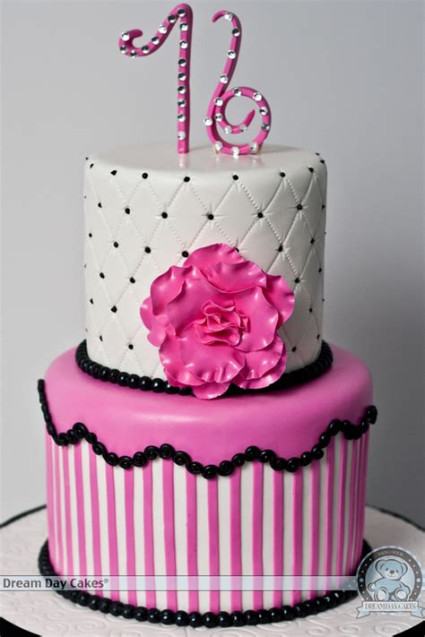 Sweet 16 Cakes by Pink Birthday Cake In Gainesville Day Cakes