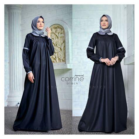 Gamis Azmya Dress By Cynarra supplier baju muslim terbaru