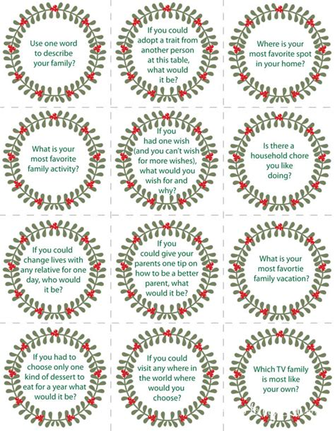 Printable Conversation Cards Template by Conversation Starters Free Printable Skip To My Lou